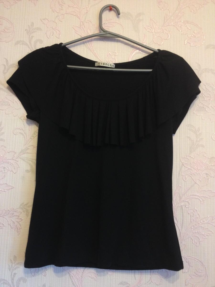 Черная футболка gegrge