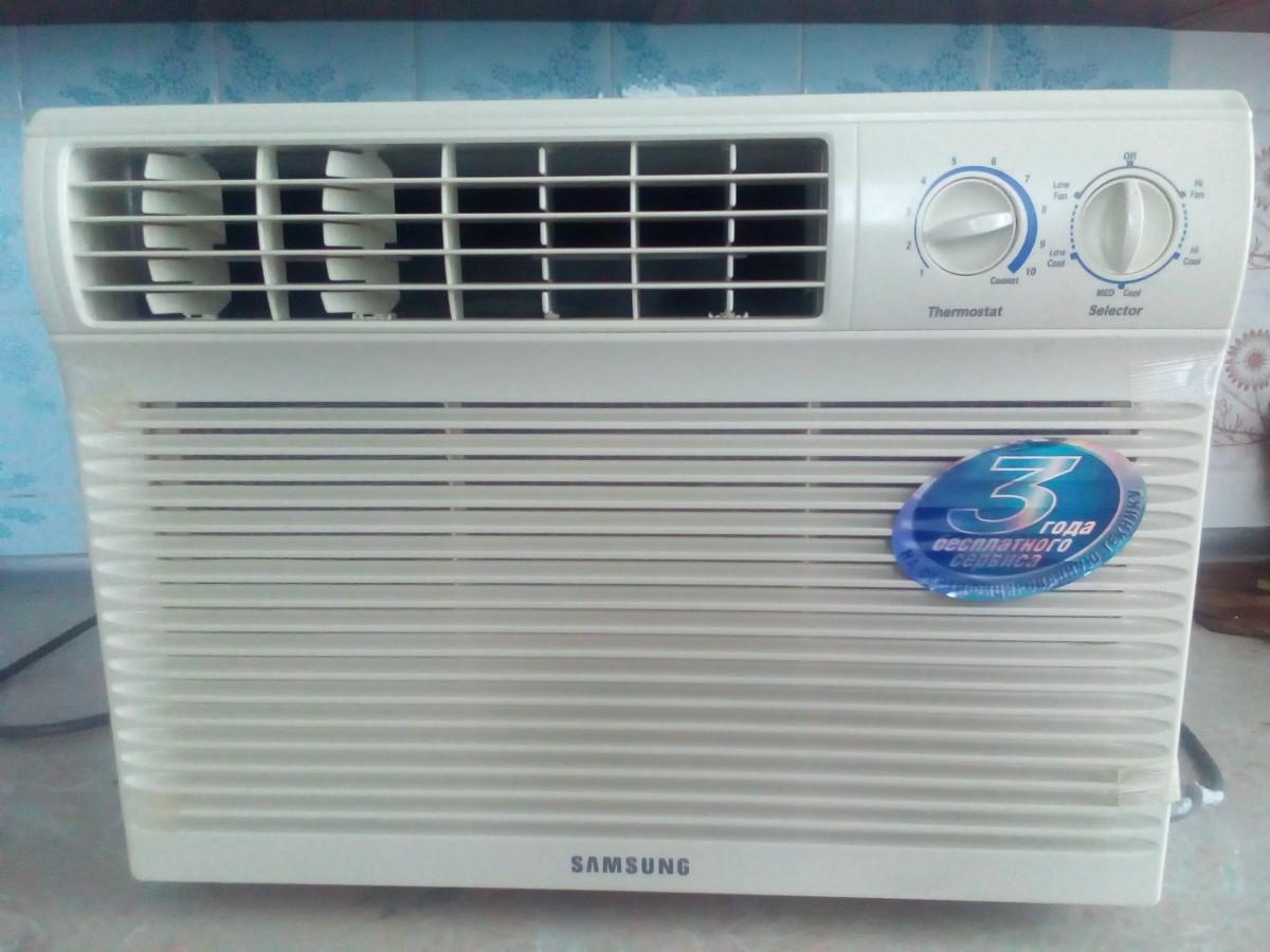 Оконный кондиционер samsung aw05moyea бытовые вытяжные вентиляторы