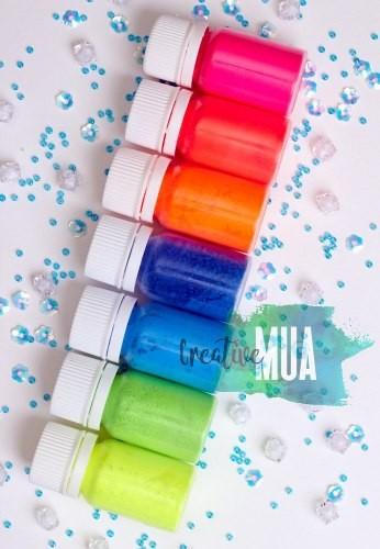 Неоновые флуоресцентные пигменты Artsoul Makeup