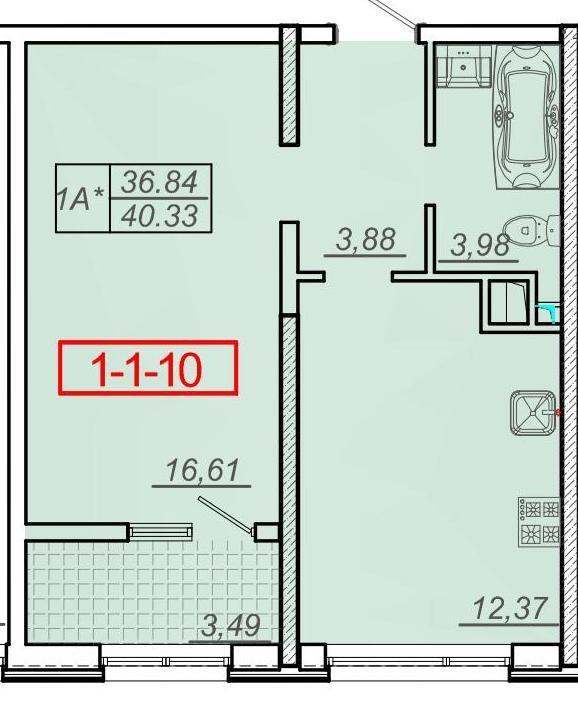 Спешите приобрести квартиру в новом сданном доме от Кадорр Групп