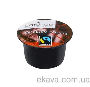 Кофе в капсулах Cafe+co Espresso Italiano 8 гр х 100 шт