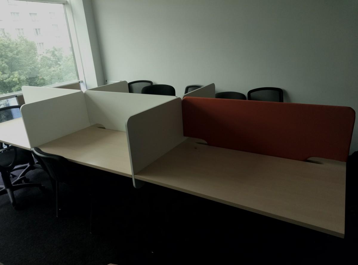 Компьютерный стол на 6 рабочих мест