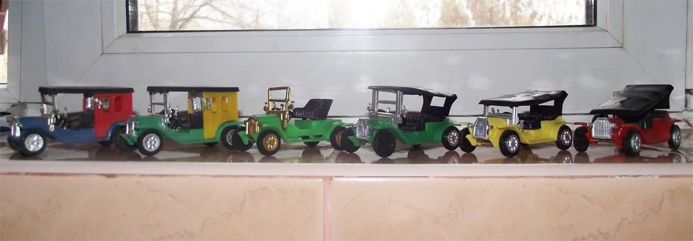 Пластиковые модели Форд -Т СССР.