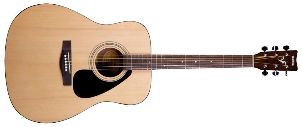 Yamaha F 310 гитара акустическая+чехол+каподастр+медиатор