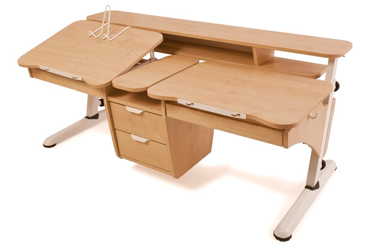 Детский стол эргономик для двоих детей из дсп купить в киеве.