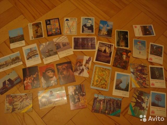 Продам коллецию 30 000 календариков, СССР