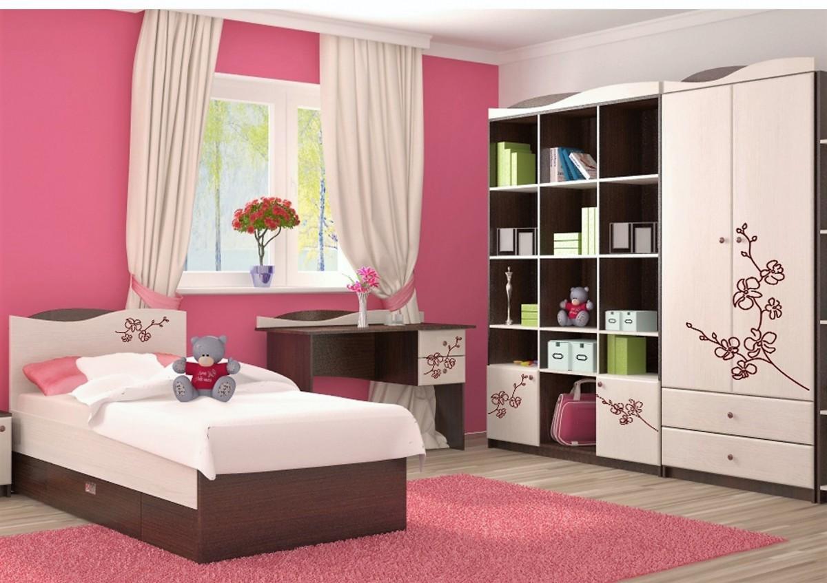 Мебель для подростковой комнаты Орхидея
