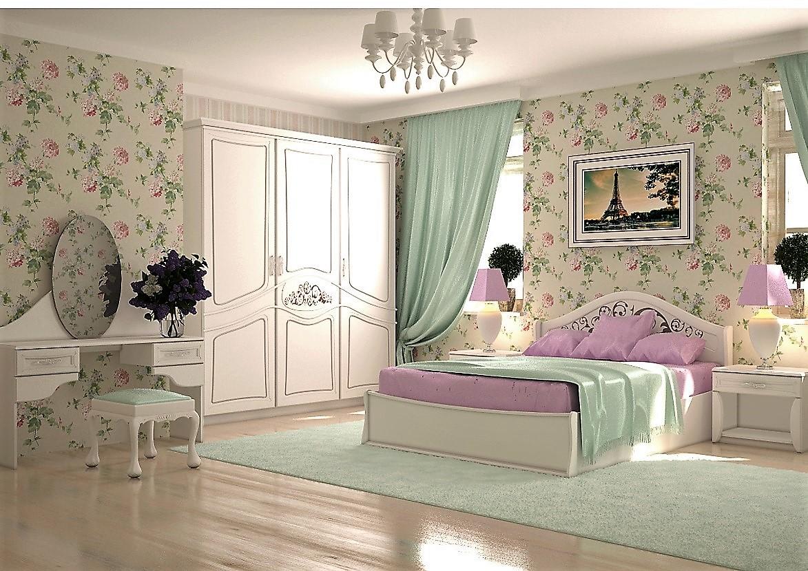 Недорогі та вишукані меблі для спальні Ліра
