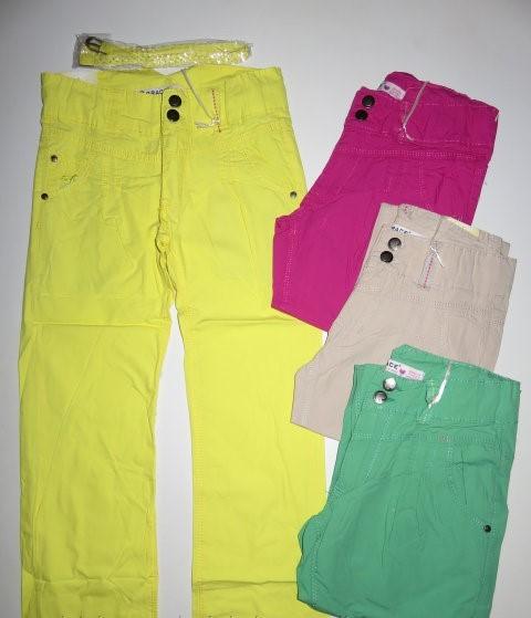 Котоновые брюки для девочек Grace