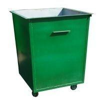 Металлический контейнер для мусора 0.75 м\куб