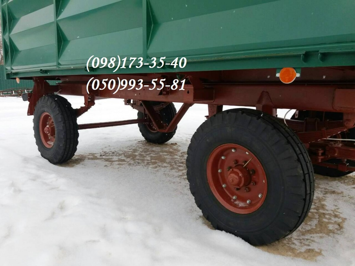 Тракторный прицеп 2ПТС-4 б.у