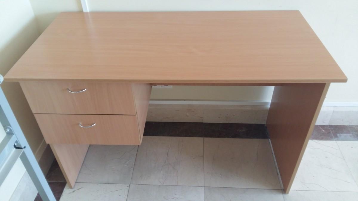 стол учительский однотумбовый с двумя полками