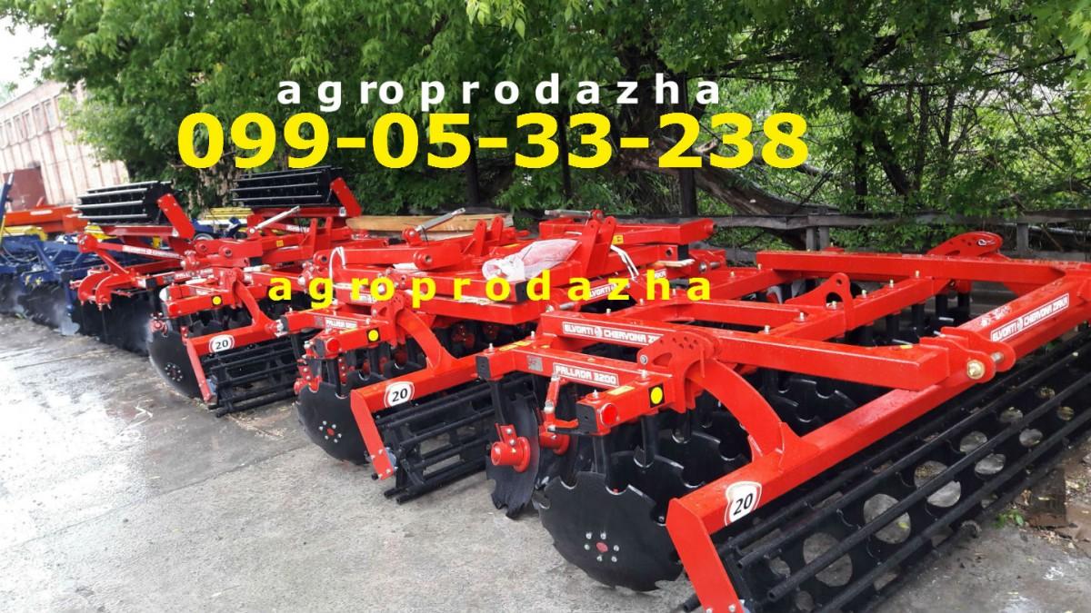 Модельный ряд Паллада 3,2-01 (2.4-01)ПАЛЛАДА 2400-3200 бороны