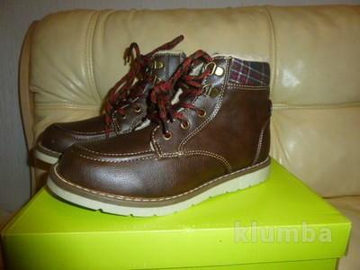 Новые Ботинки на холодную осень-зиму 32 р