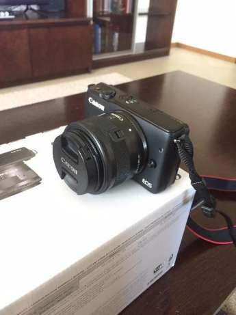 Фотоаппарат CANON EOS M10 + 15-45mm + КАРТА ПАМЯТИ 64 ГБ