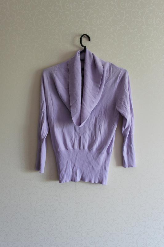 Блуза, свитер, кофта, сирень, лаванда