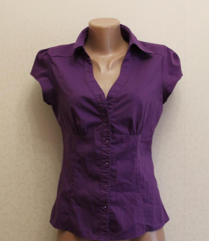 Рубашка, блуза, кофта, сирень