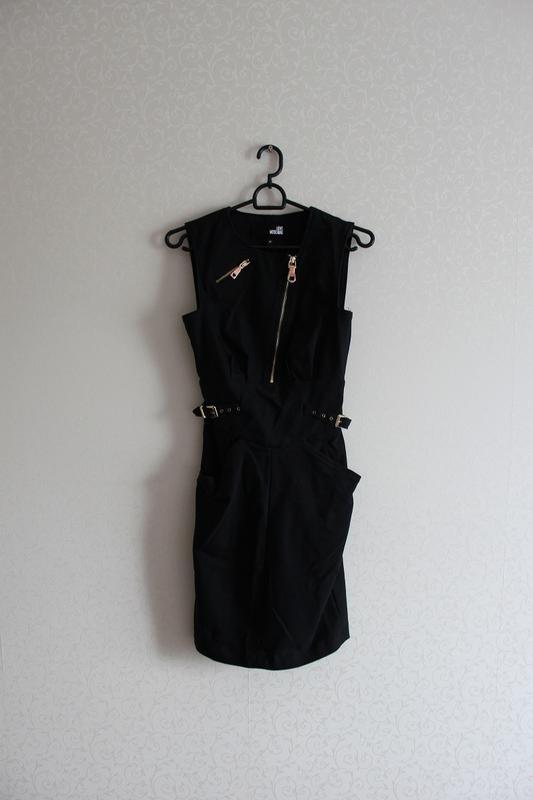 Платье,черное,moschino