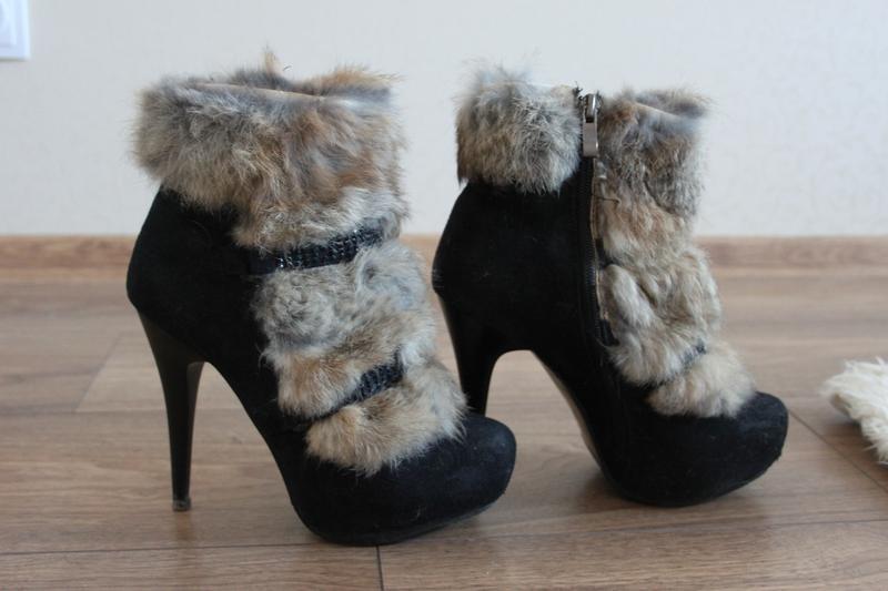 Ботинки мех кролик скидка, распродажа, все по 50 грн
