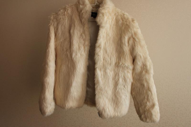 Куртка, шуба мех кролик