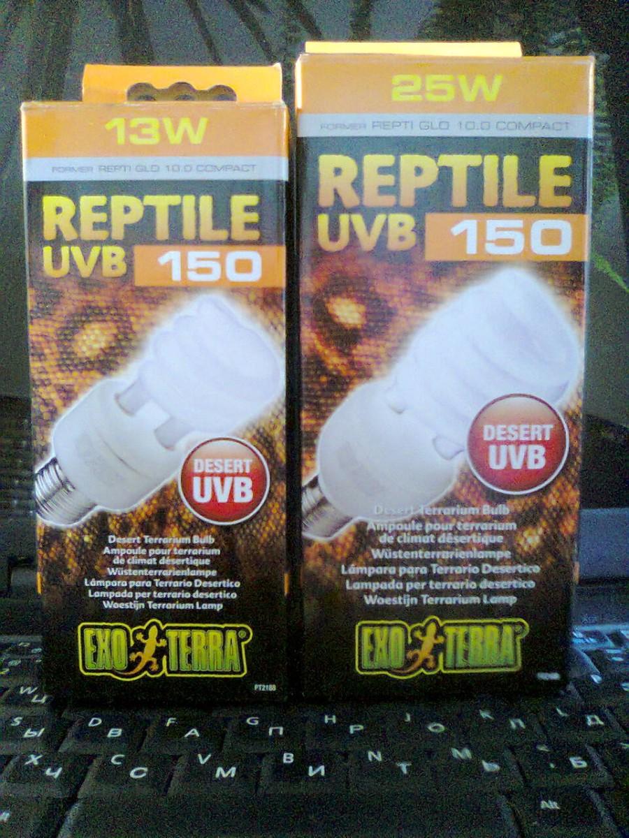 УФ лампы для рептилий