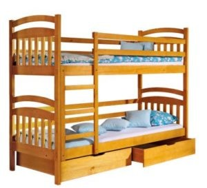 Детские двухъярусные кровати от производителя - Karinalux + подарок.
