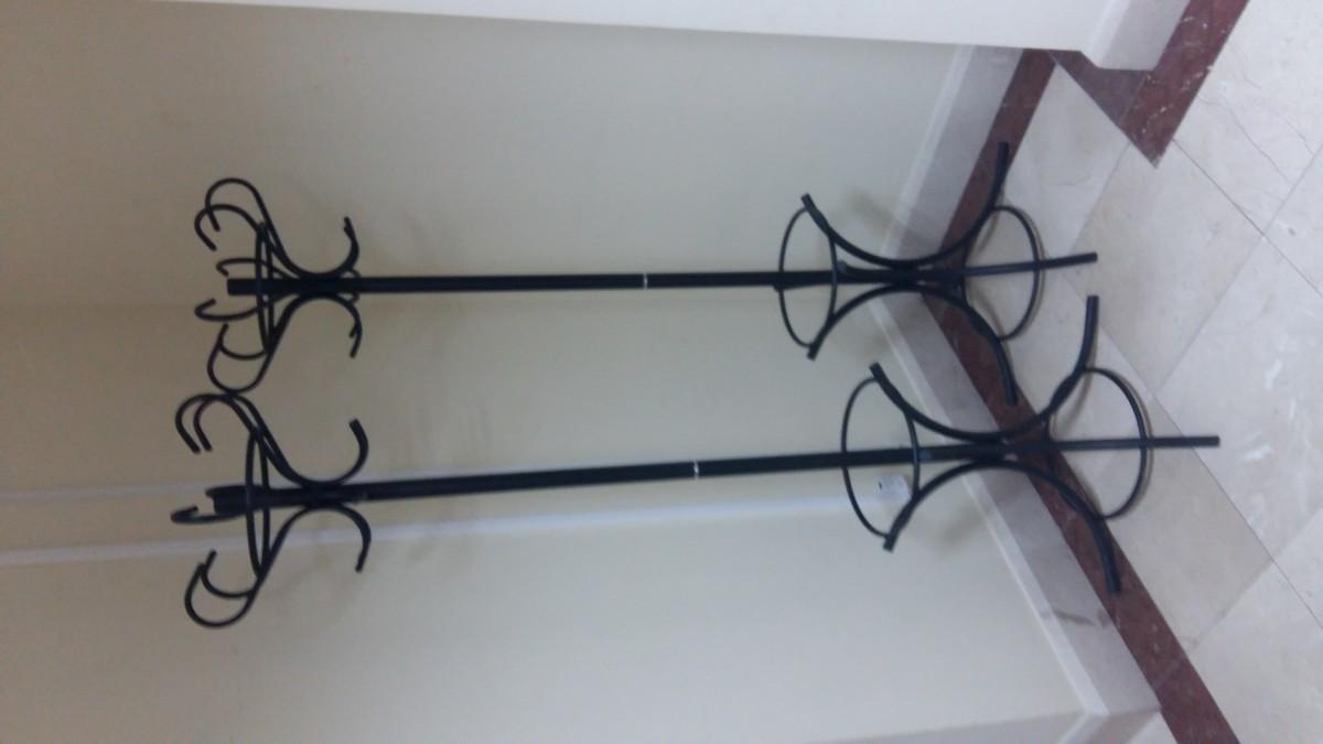 Вешалка  напольная для одежды в зал ожидания