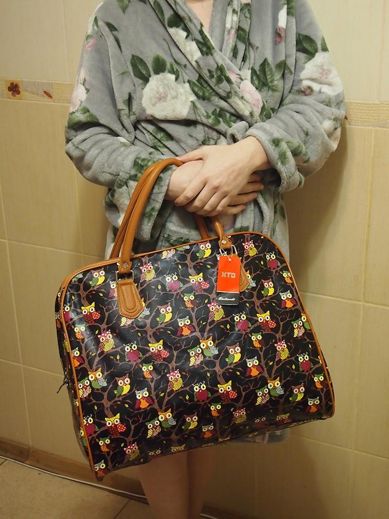 огромная сумка с совами