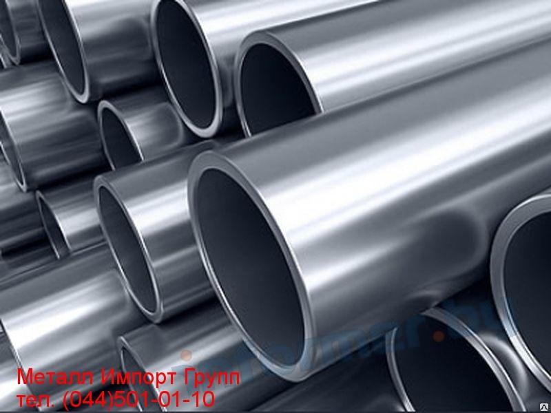 Труба сварная нержавеющая размером  129х2 мм сталь AISI 304L