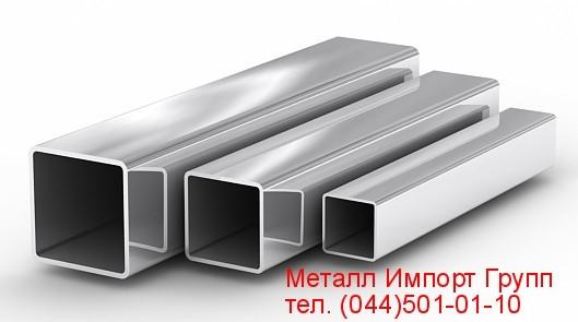 Труба квадратная размером 40х40х3 мм сталь AISI 304