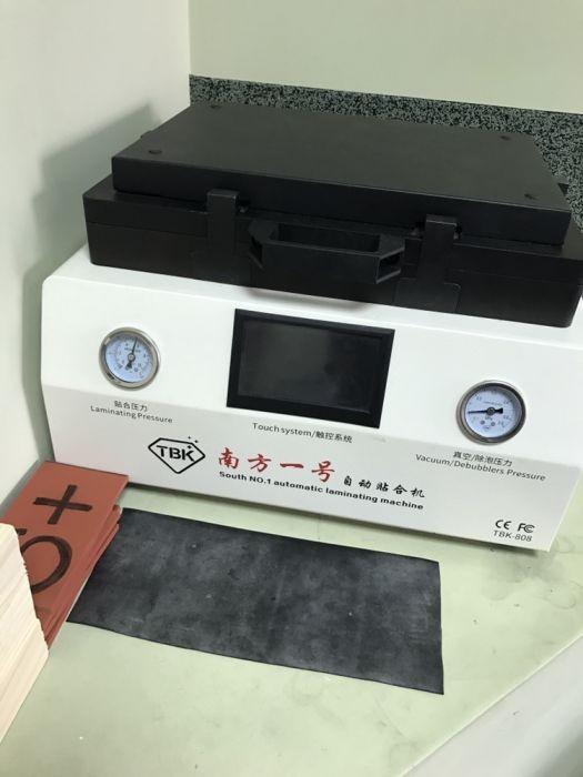 Ремонт оборудования для переклейки дисплеев TBK-808