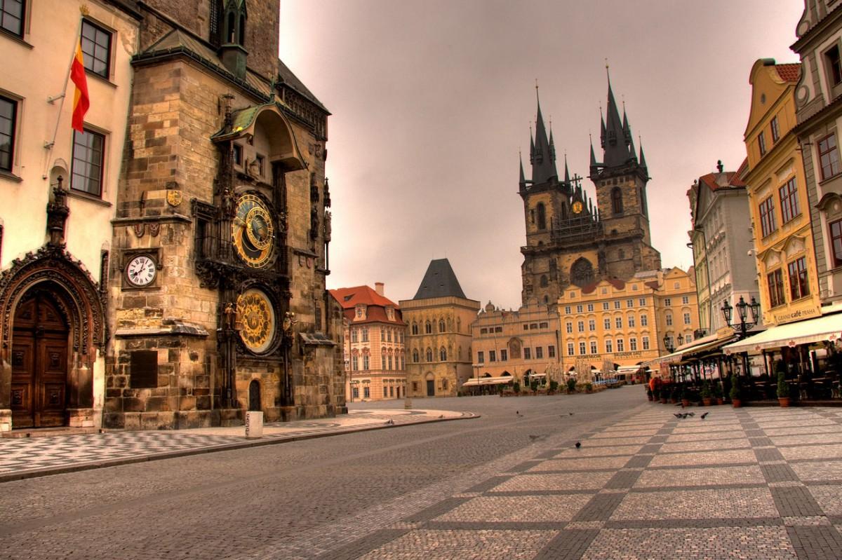 Работа в г. Прага
