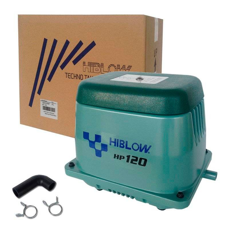 Компрессор для пруда HIBLOW HP-120