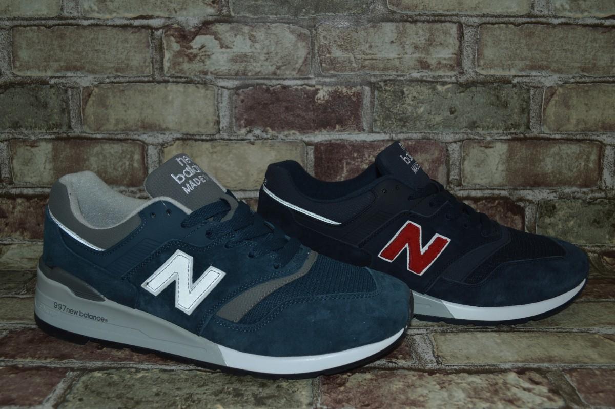 Акция! Мужские кроссовки New Balance 997 Нью Беланс больших размеров!