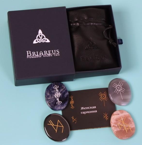 Подарочный набор рунических амулетов Женская гармония ТМ Briareus
