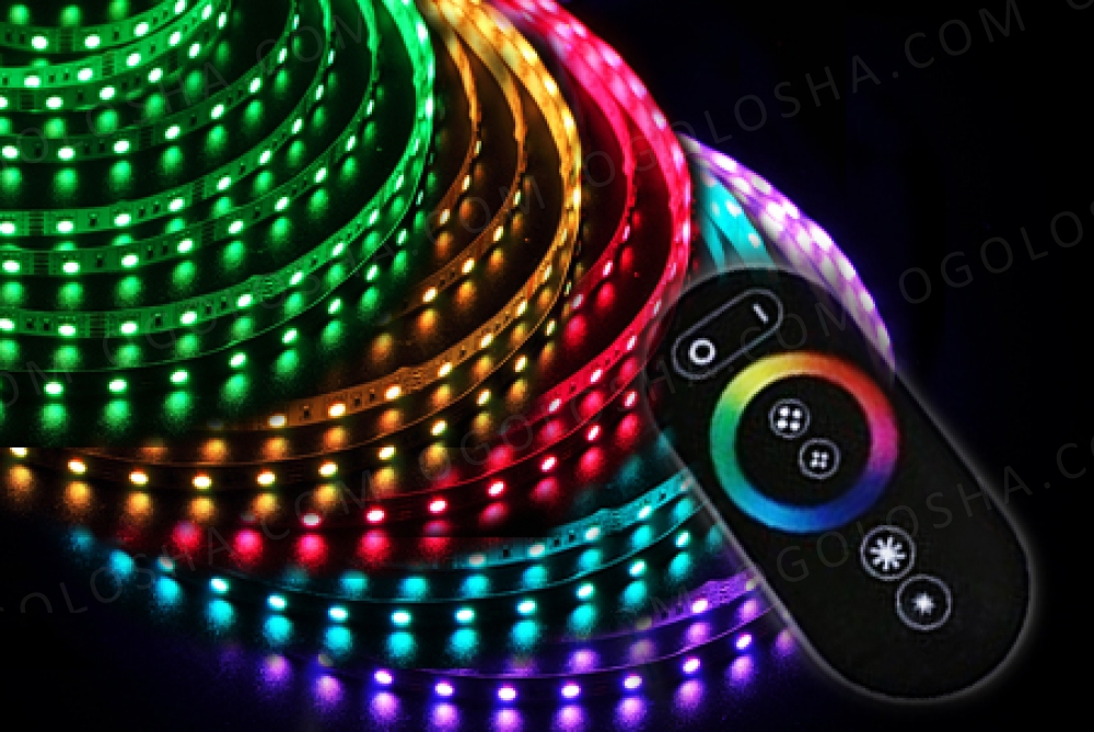 Готовый светодиодный комплект RGB 5 м.