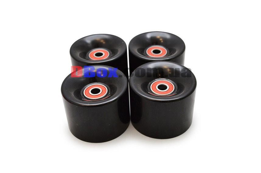Колеса для Пенни борда CLASSIC черные полиуретановые 60 х 40 мм. 1 шт,