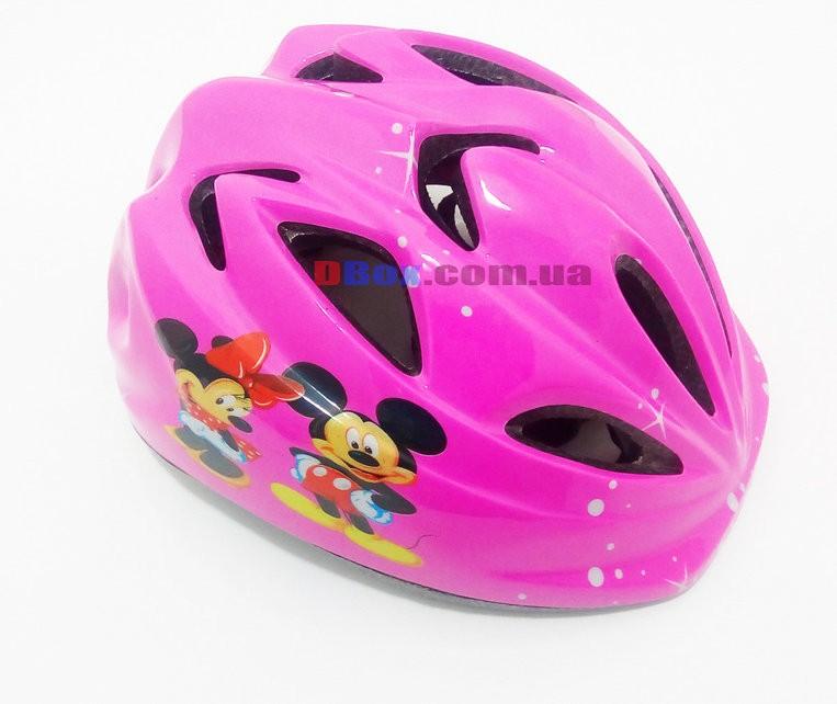 Вело Шлем детский Микки Pink регулировка окружности ,Киев