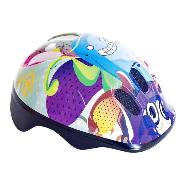 Шлем детский Spokey Bubbles S-L с регулировкой окружности Польша,киев