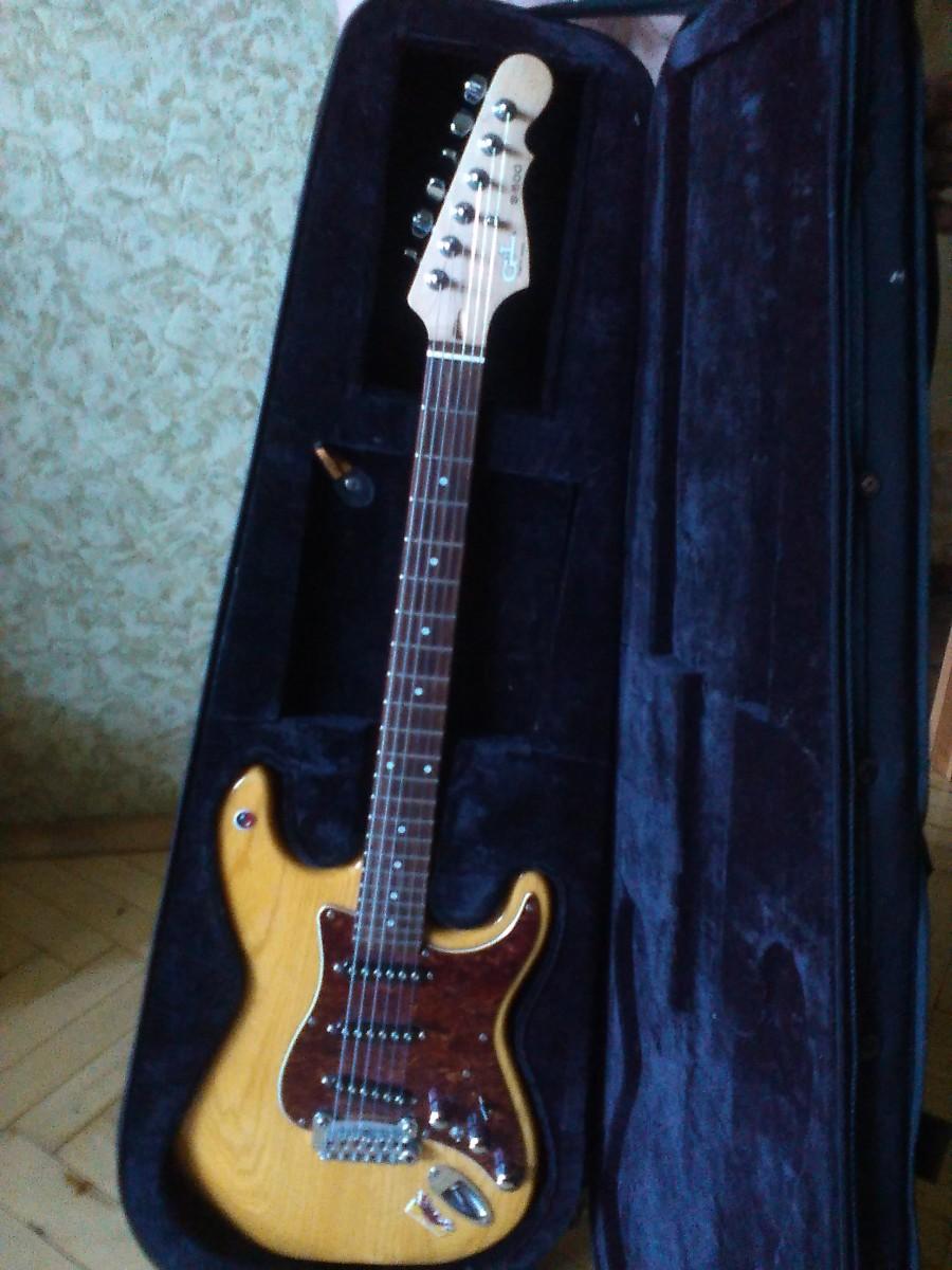 Гитара G&L TRIBUTE S-500 (Корея), комбик: Laney LG35R (на 35 ватт)