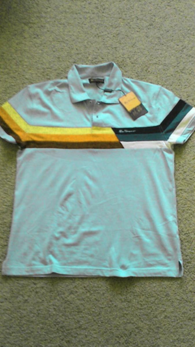 """Тениска """"Ben Scherman"""",новая, с бирками.  Супер тениска по супер цене."""