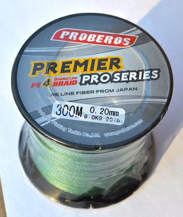 Шнур плетеный Proberos Premier PRO 300 м
