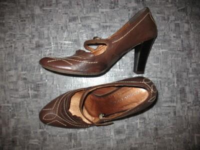 Кожаные туфли 37 р.