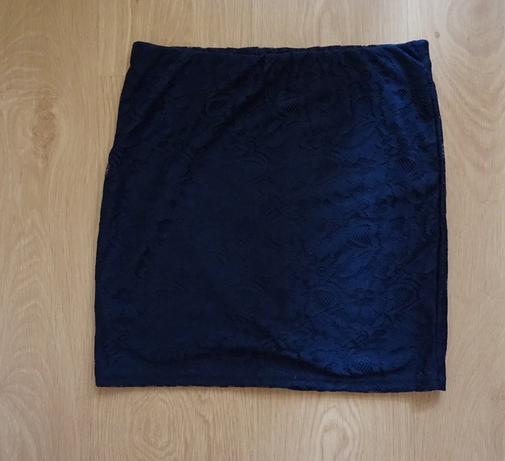 Новая гипюровая юбка темно-синего цвета Suiteblanco, р. S, XS