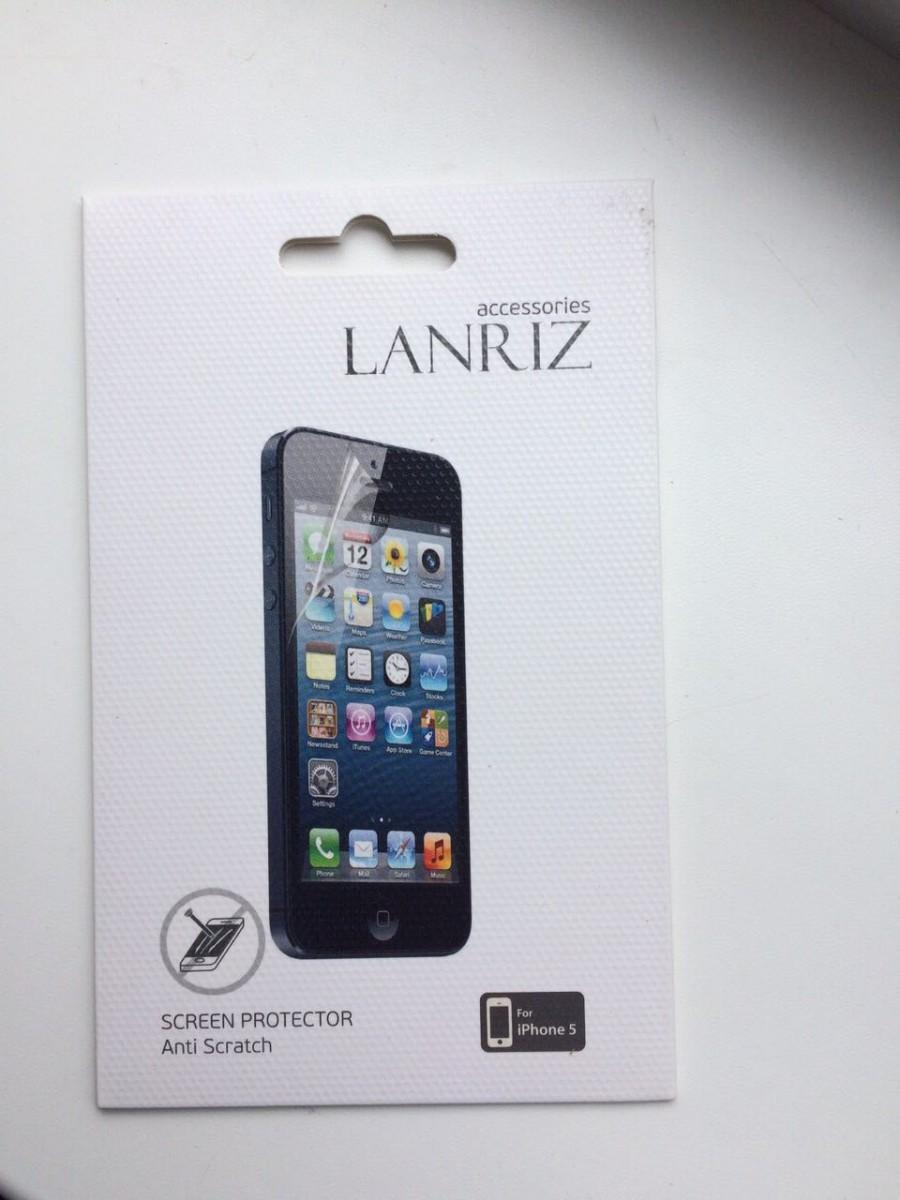 Защитная пленка для IРhone 5 фирмы Lanriz