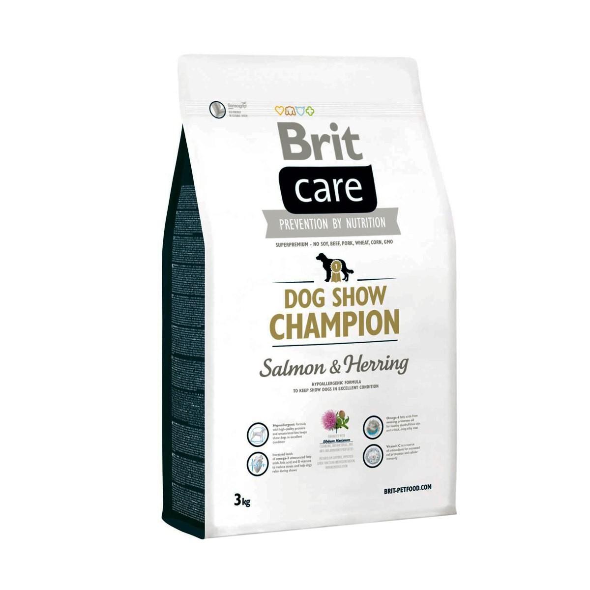 Brit Care Dog SHOW CHAMPION корм для собак Кривой рог доставка