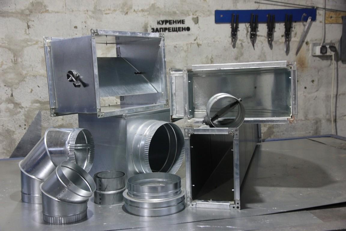 Виготовлення повітропроводів