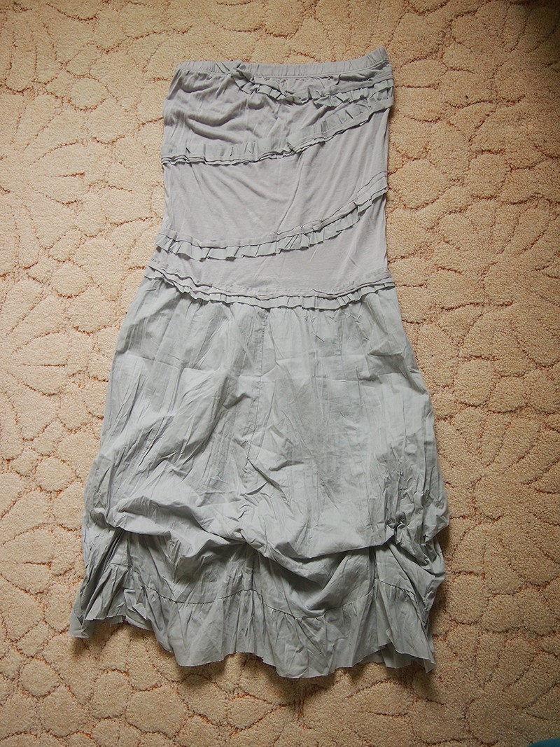 AREFEVA легкое платье с воланами 44-46 М
