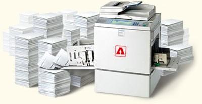 Тиражирование на ризографе. Цифровая цветная печать А4 и А3. Дарница