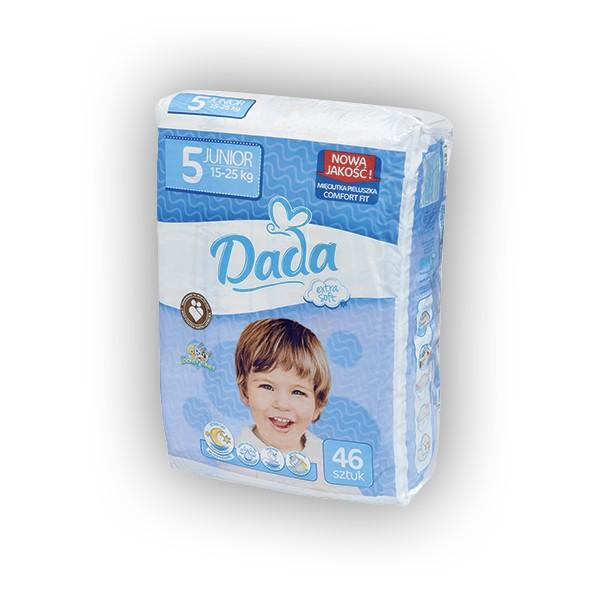 Подгузники ДАДА (Dada) Extra soft 5 JUNIOR (15-25 кг) 46 шт